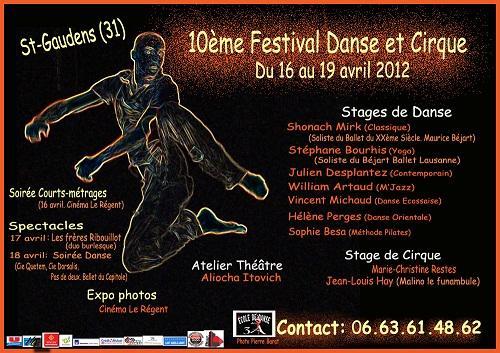 affiche. festival 2012