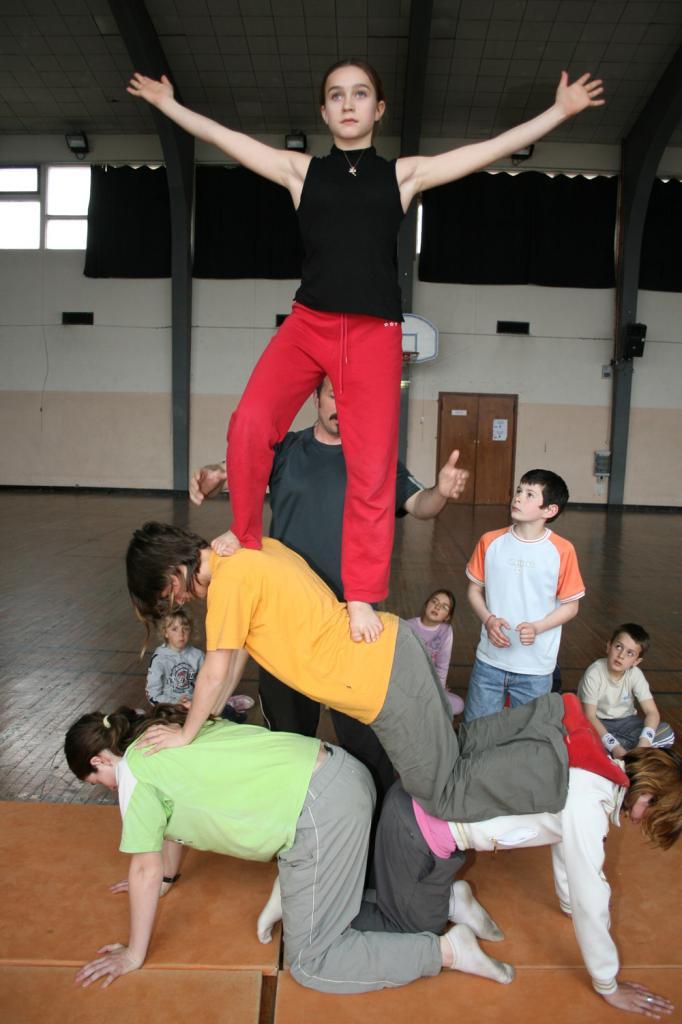 atelier cirque 2007