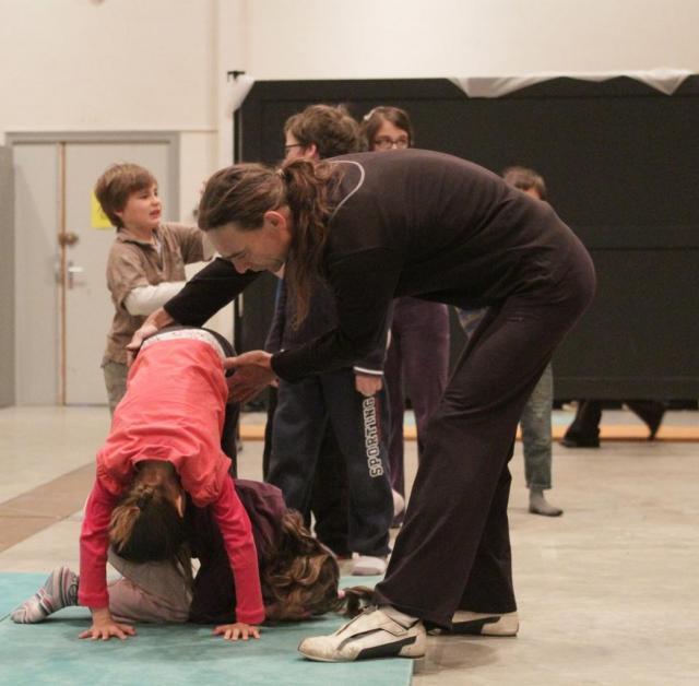atelier cirque avec Malino
