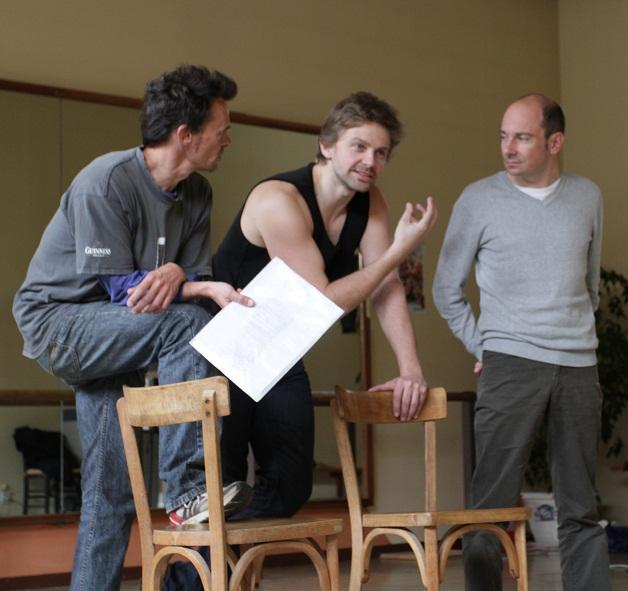 atelier théâtre avec Aliocha Itovich