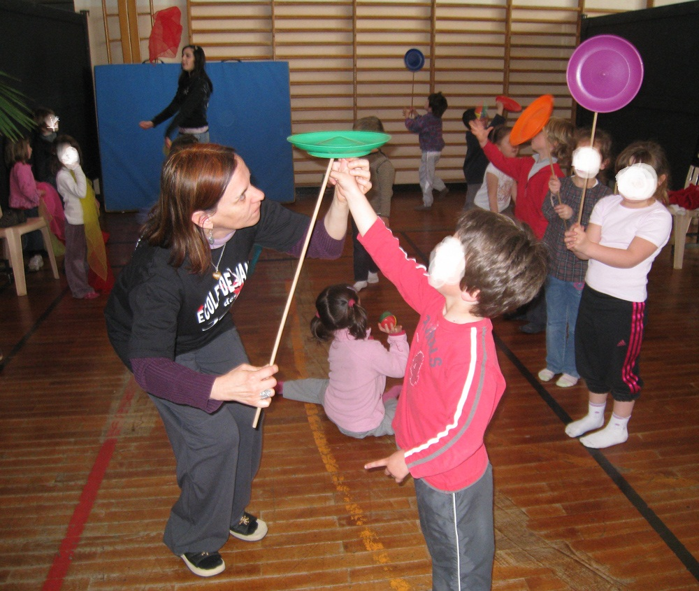 cirque. atelier des 4.6 ans