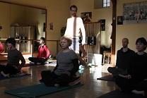cours de yoga de Stéphane Bourhis