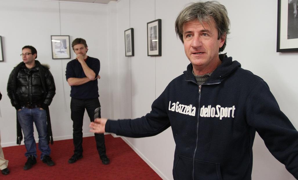 Pierre Barat présente l'exposition de David Herrero