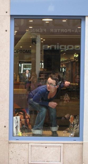 Sophie Barros. exercice de style en vitrine