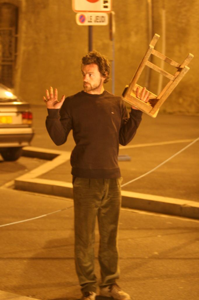 spectacle Rémi Luchez 2007