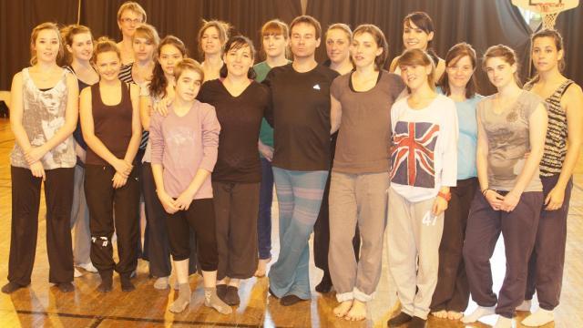 William Artaud et ses élèves