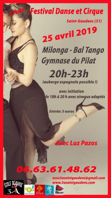 Luz affiche bal tango 2